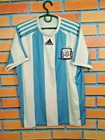 Argentina Jersey 2008 2009 Home SMALL Shirt Mens Football Camiseta Adidas