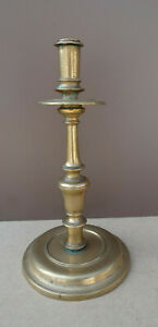 Nice Spanish brass candlestick 17th century, ca.1680