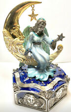 "KIRKS FOLLY Trinket Box~ Remember the Magic ""Secret Of The Seven Angels"" Moon"