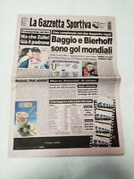 GAZZETTA DELLO SPORT 17 MAGGIO 1998 34° E ULTIMA GIORNATA CAMPIONATO SERIE A