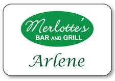 Arlene True Blood Merlottes Name Badge Prop Halloween Costume Pin Back