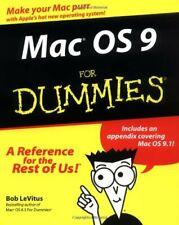 Mac OS 9 For Dummies-Bob LeVitus, Steven Bobker