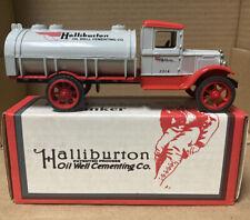 ERTL 1931 Hawkeye Tanker Halliburton Cementing Truck Employee Issue 1992