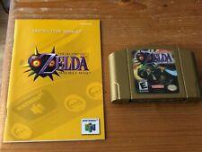 The Legend of Zelda Majora's Mask. NTSC USA. Nintendo 64 N64. Game+Manual only.