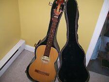Suzuki No.6 guitar as found w/case for restoration Nagoya ,Japan Vintage