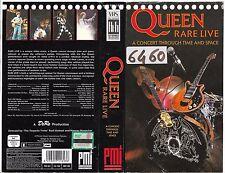 QUEEN - RARE LIVE (1989) vhs ex noleggio