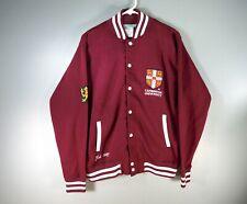 Men's Official Cambridge University Embroidery Maroon Jacket size Medium