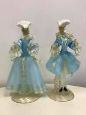 Pair of Vintage Murano Venetian Figurines
