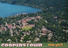 Cooperstown New York, Doubleday Field, Baseball Hall of Fame -- Stadium Postcard