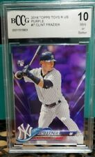 2018 Topps Clint Frazier RC BCCG 10 Gem Mint Rookie New York Yankees QTY