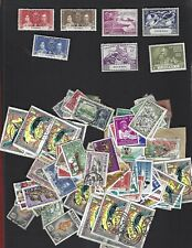 Nigeria sc#50-2,75-8 (1937-49) Complete MLH + Nice lot