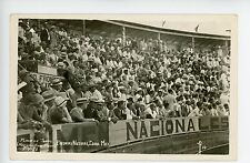 Plaza de Toros Bull Fighting Crowd RARE RPPC Mexico Piedras Negras Coahuila 1928