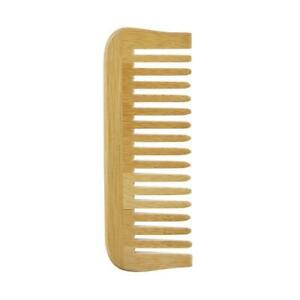 💚 Avril Natural Bamboo Comb Wide Teeth