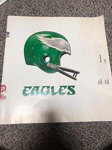 NFL 1982 Philadelphia Eagles Vintage Lays Ruffles Folder Cover Rare