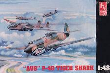 """AVG"" P-40 Tiger Shark HC1451 HobbyCraft 1:48 2. Weltkrieg Luftwaffe Modellbau"