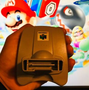 AUTHENTIC OEM Official Nintendo 64 N64 Transfer Pack Pak Gameboy Pokémon NUS-019