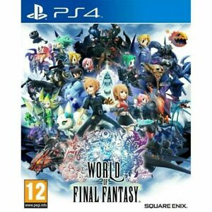 World of Final Fantasy PS4 Playstation 4 Brand New