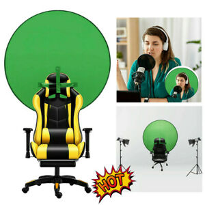 Green Screen Backdrop Portable Photography Background Chair Photo Video Studio M