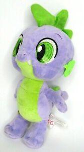 "Build A Bear My Little Pony Spike The Dragon 12"" Plush Purple Stuffed Animal Toy"