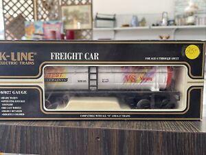 1994 K-LINE K-639105 TRU TEST PAINT SINGLE DOME TANK CAR TRUE VALUE HARDWARE