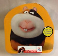 The Secret Life Of Pets 32 In Box Valentines Cards & Heart Stickers NEW Holiday