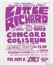Little Richard Handbill 1967 Sep 9 Concord Coliseum