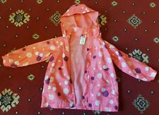GIRLS PEACOCKS WATERPROOF COAT SIZE 4 YEARS EXCELLENT CONDITION