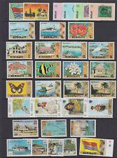 Kiribati 1979 - 1980 MNH collection , 2 scans