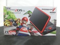 Nintendo 2DS LL Mario Kart 7 Bundle Limited Edition Console System JAPAN New!