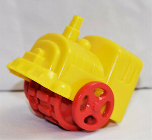Kenner Vintage Play-Doh Tonka Train Tracker Yellow & Red