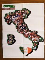 POSTER ROMA CAMPIONE D'ITALIA 2000-2001 SCUDETTO TOTTI GUERIN SPORTIVO