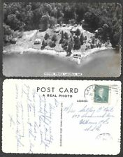 Old Canada Real Photo Postcard - Lakefield, Ontario - Victoria Springs, Aerial