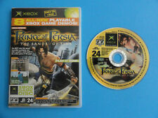 XBOX OFFICIAL MAGAZINE PLAYABLE DEMO DISC #24 2003 - PRINCE OF PERSIA - 8 GAMES