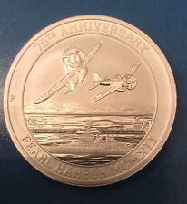 2016-P Perth Mint $1 1 oz. Silver 75th Anniversary of Pearl Harbor coin, UNC.