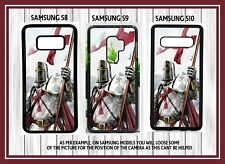 Knights Templar White Knight Mobile SAMSUNG Galaxy s8, s9, s10 Cover Case
