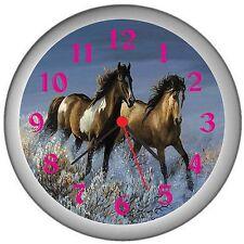 Running Horse Room Decor Wall Clock