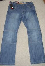 Stonewashed Classic Fit, Straight 32L Jeans for Men