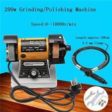 200W Grinder Grinding/Polishing Machine Flexible Axle Milling Engraving Grinder