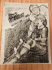 Final Solution No. 5 RARE US PUNK, KBD Zine, Légion Aires disease, J. CALE, conseil...