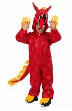 Childs Red Chinese Dragon Halloween Costume Medium Red