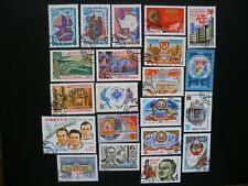 Russia-1981 Short Year Set of 73 Different Stamps, 5 Souvenir Sheets CTO OG