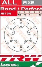 Disque de frein Avant TRW Lucas MST256 Kymco 50 Agility CK50QTS 2006 -->