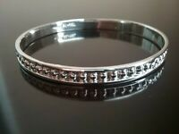 Ericks Sterling Silver Beaded Bangle Bracelet Taxco.925