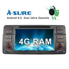 Autoradio DAB+ Android 8.0 GPS Navi BMW E46 M3 3er 318 320 325 Rover75 MG ZT