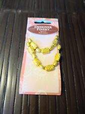 Jewelry Spacer beads Designer Finery 16 pieces antique gold tone