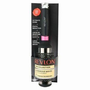 Revlon Pro Collection Glamorous Waves Large Thermal Brush Free Shipping