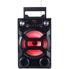 auvisio Mobile Akku-Musikanlage, Bluetooth, Karaoke-Funktion, USB, SD, 30 Watt