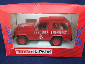 Polistil Nissan Patrol Fire Emergency Truck - 1/25 Scale Red BOXED