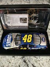 Jimmie Johnson #48 Lowe's 2007 Chevrolet Monte Carlo SS Owners Elite 1/24