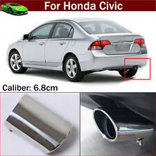 Exhaust Muffler Tail Pipe Tip Tailpipe Emblem For For Honda Civic 2012-2018